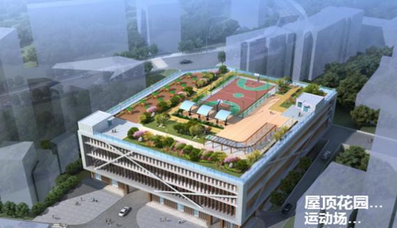 重庆长寿区老体育馆城市公共停车场工程